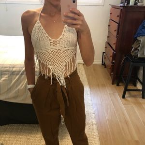 Crotched bralette